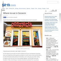 Where to eat in Szczecin