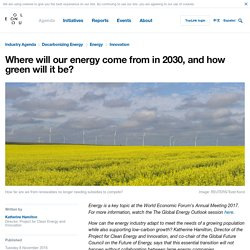 Where will our energy come from in 2030, and how green will it be?