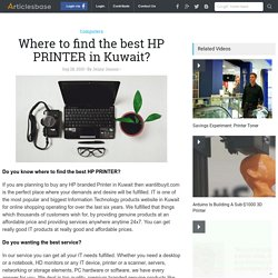 Where to find the best HP PRINTER in Kuwait?