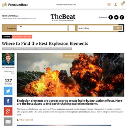 Where to Find the Best Explosion Elements