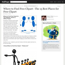 Where to Find Free Clipart - The 15 Best Places for Free Clipart