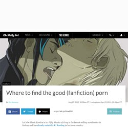Where to find the good (fanfiction) porn
