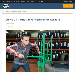 Car Parts near Me – CarpartAU