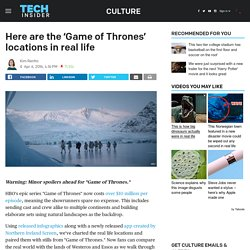 Where is 'Game of Thrones' set?