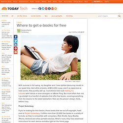 Where to get e-books for free