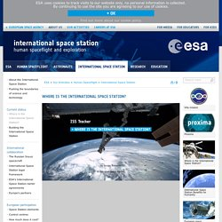 Where is the International Space Station? / International Space Station