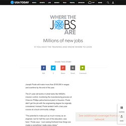 Where the jobs are: The new blue collar