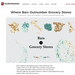 Where Bars Outnumber Grocery Stores
