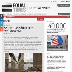 Where has São Paulo's water gone?