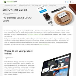 Where & How to Sell Products Online? - Free Guide