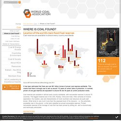 coal reserves, coal exploration - World Coal Association