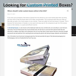 Where should I order custom boxes online in the USA?