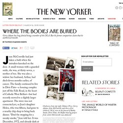 Where the Bodies Are Buried - The New Yorker