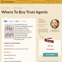 Where To Buy Trust Agents