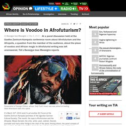 Where is Voodoo in Afrofuturism?