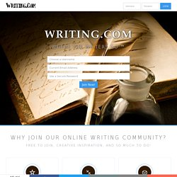 The Online Community for Writers