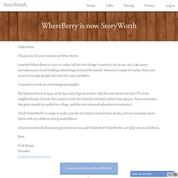 Welcome! - WhereBerry