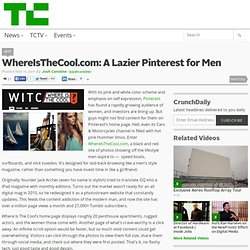 WhereIsTheCool.com: A Lazier Pinterest for Men
