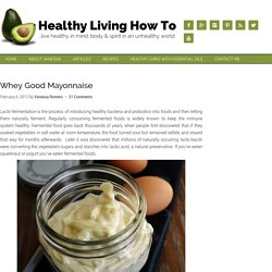 Whey Good Mayonnaise