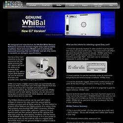 WhiBal - LensAlign