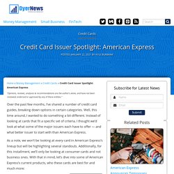 Which Is the Best American Express Card for You?
