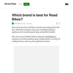 Which brand is best for Road Bikes?