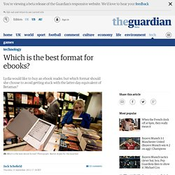 Which is the best format for ebooks? | Ask Jack | Technology