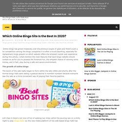 Which Online Bingo Site Is the Best In 2020? - Buy Bingo & Lotto Balls Online