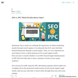 SEO vs. PPC: Which Provides Better Value?