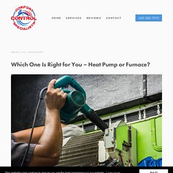 Which One Is Right for You – Heat Pump or Furnace?