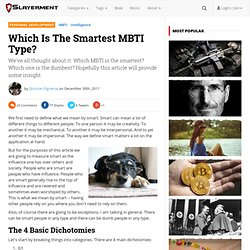 Which Is The Smartest MBTI Type?