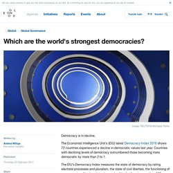 Which are the world's strongest democracies?
