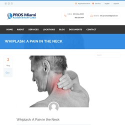 Miami Back Pain - PROS Miami