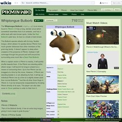 Whiptongue Bulborb - Pikmin Wiki