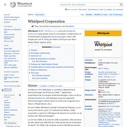 Document 8 : Whirlpool Corporation
