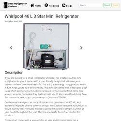 Whirlpool 46 L 3 Star Mini Refrigerator