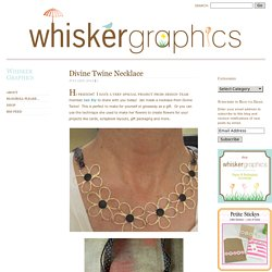 Whisker Graphics - Divine Twine Necklace
