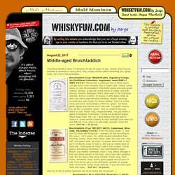 Whisky Fun by Malt Maniacs' Serge - Blog about Single Malt Scotch Whisky and Music