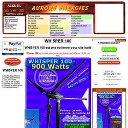 WHISPER 100 - OLIENNE WHISPER 900W 12/24/48V