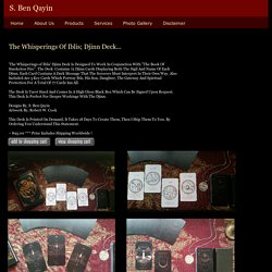 The-Whisperings-Of-Iblis-Djinn-Deck