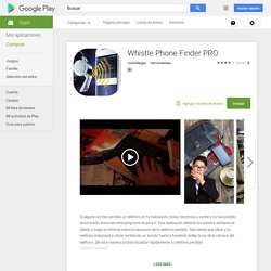 Whistle Phone Finder PRO - Aplicaciones Android en Google Play