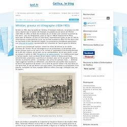 Whistler, graveur et lithographe (1834-1903)