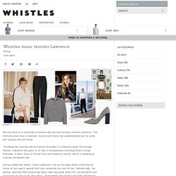 Whistles - Whistles Muse: Jennifer Lawrence