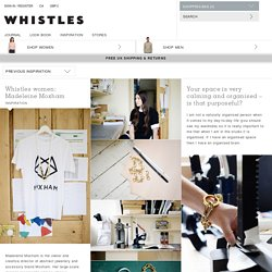 Whistles women: Madeleine Moxham