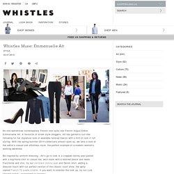 Whistles - Whistles Muse: Emmanuelle Alt