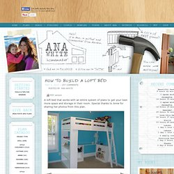 Build a How to Build a Loft Bed