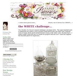 WHITE challenge… 1/2