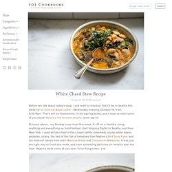 White Chard Stew Recipe