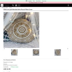 Looking For adding extra seating space go with Mandala Floor Pillow