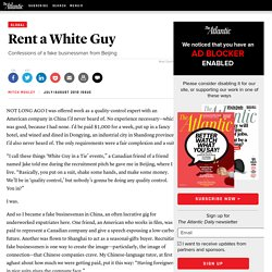 Rent a White Guy - Magazine
